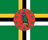 National Flag of the Commonwealth of Dominica