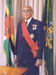 His Excellency Sir Clarence Seignoret, GCB., COL., Kt.M., OSJ., OBE.